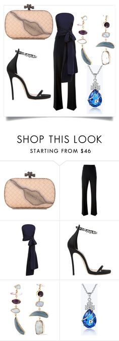 """Untitled #583"" by fashionqueen556 ❤ liked on Polyvore featuring Bottega Veneta, Chloé, Rosie Assoulin, Dsquared2 and Melissa Joy Manning"