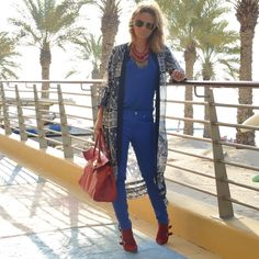 How to wear all blue - read full blog post here: http://modedevoted.com/2015/11/ootd-all-blue.html #ModeDevoted #Streetstyle #Fashion
