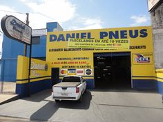 A empresa Daniel Pneus está a mais de 20 anos no ramo de: * Alinhamento * Balanceamento * Cambagem * Caster * Escapamento * Freio…