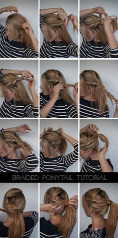 Learn unique Ponytail hairstyle. I'm somewhat neutral about this because of the back...