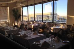 French-inspired cuisine comes paired with enchanting views of the Schuylkill River, Cira Centre and Street Station at Center City's Bistro St. 30th Street Station, Area Restaurants, Restaurant Week, Dinner Menu, Public Relations, Night Life, Philadelphia, Building, House