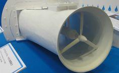 Gerador compacto de energia hidrelétrica pode ser usado em córregos e rios. Se a água fluir a sete quilômetros por hora, o sistema produz 250 watts, quantidade suficiente para carregar um laptop
