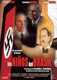 Los niños del Brasil (1978) EEUU. Dir.: Franklin J. Schaffner. Nazismo. Suspense. Terror - DVD CINE 1568
