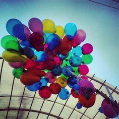 #feria #globos #domingo #días #colores #vida
