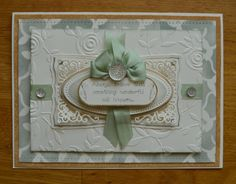 7x5 Card, made by me, using Spellbinder Dies, Distress Inks, Masks, Embossing Folder and my Sentimentally Yours Quotes of Inspiration A5 Stamps, This was one of my samples on one of my Create & Craft shows. Details of what I did are on my blog www.phillmartin.blogspot.com