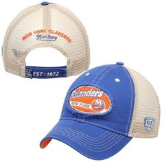 f775577a4 Mens New York Islanders Old Time Hockey Royal Blue Basalt Adjustable Hat