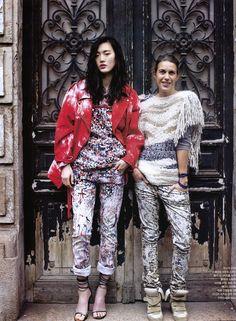 Isabel Marant in Vogue Korea via the marant philes
