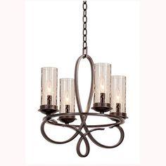 Grayson Heirloom Bronze Four Light Chandelier Kalco Candles W/ 4 Or 5 Shades Mini Chandeli