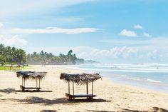 The beach at Kabalana in Sri Lanka