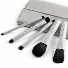 5 double-headed makeup brush/ Animal hair /Makeup Tools by taoli. $33.60. Brush handle Specifications: portable models. Specifications:15.3cm*9.2cm. Bristles Material: wool. Category: makeup brush sets. 1.These brushes are like butterfly kisses, give you a pleasure to use     2.Cosmetic Brush make you much more beautiful          3.Portable design           4.best cosmetic tools for powder   5.The makeup brush set is easy to carry and use