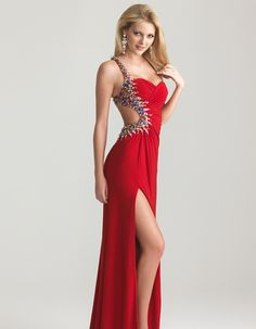 Red_Ruched_Jersey_Beaded_One_Shoulder_Open_Back_Prom_Dress