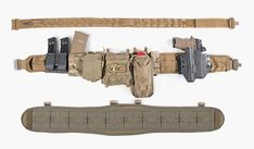 Be prepared if you have to shoot in your skivvies. Military Gear, Military Weapons, Tactical Survival, Tactical Gear, Camping Survival, Survival Gear, War Belt, Battle Belt, Firearms