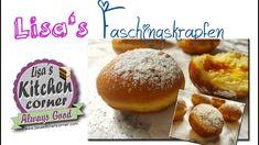 Lisa's selbstgemachte Faschingskrapfen  | einfach und lecker Lisa S, Kitchen Corner, Hamburger, Bread, Food, Cute Baking, Homemade, Diy, Food Food