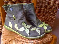 Bottines Vertes Style Gudrun Sjoden DE LA Marque Dkode TAILLE37 | eBay