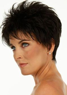 Image result for Short Spikey Hairstyles for Women Over 60 Fine Hair