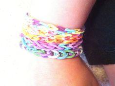 Rubber band bracelets