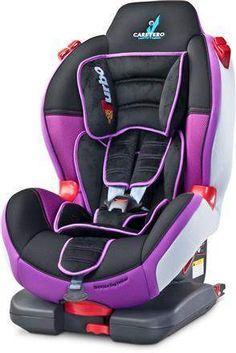 Fotelik samochodowy dla dziecka od 9 do 25 kg fioletowy dladziecka-net.pl