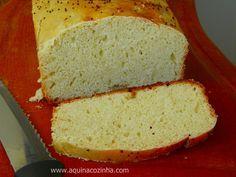 Essa é uma receita de pão caseiro muito fácil de fazer, venha ver e aprender a fazer esse delicioso pão em sua casa.