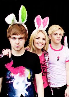 Haha! Love the bunny ears! As a matter of fact I have some just like Rydel's.
