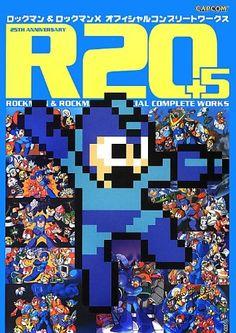 Rockman & Rockman (Mega Man) X Official Complete Works R20+5 Art Book (R20+5 Rockman & Rockman (Mega Man) X Official Complete Works 25th Anniversary Art Book) by CAPCOM