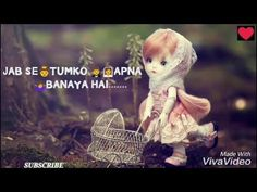 Meri Zindagi to Yaar Tere Bin Adhuri hai || WhatsApp Status Songs || Lyrics || Love 3 - YouTube