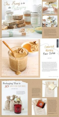 Delicious-looking spreads from Willow and Sage: oatmeal honey face scrub, and packaging for candles, bath salts, and soaps! Sugar Scrub For Face, Lavender Sugar Scrub, Sugar Scrub Recipe, Mask For Oily Skin, Moisturizer For Oily Skin, Oily Skin Care, Skin Mask, Willow And Sage, Green Tea Face