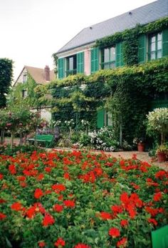 Giverny the house of Claude Monet