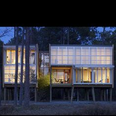 Cool houses on stilts