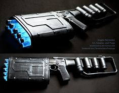 Batman Dark Knight Rises EMP Gun by *AngelaBermudez on deviantART