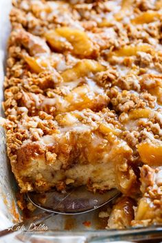 Apple Pie French Toast Bake (Casserole) - two desserts collide into one irresistible breakfast with this apple pie french toast bake!