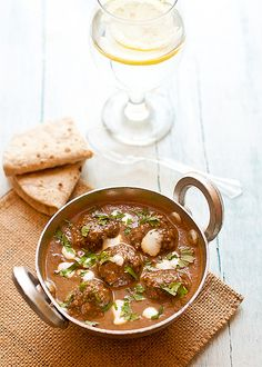 Lamb Kofta Curry as posted on the Cookin' Canuck by Indian Simmer Lamb Recipes, Curry Recipes, Indian Food Recipes, Dinner Recipes, Cooking Recipes, Ethnic Recipes, Indian Foods, Kofta Curry Recipe, My Favorite Food