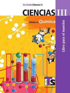 """Cover of """"Ciencias iii vol ii"""" Easter Crafts For Toddlers, Toddler Crafts, Study Tips, Chemistry, Curriculum, Make It Simple, Biology, My Design, Nerd"""