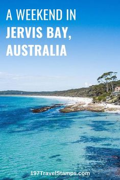 A perfect itinerary for a weekend in Jervis Bay Australia. Things to do. One of the best places to travel in New South Wales. Ideal as a weekend trip from Sydney. Australia Travel Guide, Visit Australia, Australia Honeymoon, South Australia, Western Australia, Jervis Bay Australia, Best Places To Travel, Places To Visit, Beach Relax