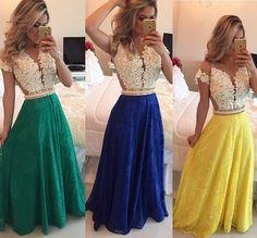 Um mais lindo que o outro cores lindas ♥ #look #cores #vestidos foto do instagram @bameloteodoro