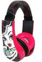 Monster High Kid Safe Over the Ear Headphone w/ Volume Limiter - $13.01! - http://www.pinchingyourpennies.com/monster-high-kid-safe-over-the-ear-headphone-w-volume-limiter-13-01/ #Amazon, #Headphones, #Monsterhigh, #Pinchingyourpennies