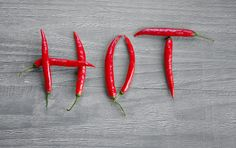 Hot chili pepper
