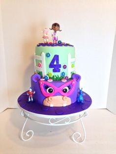 Doc McStuffins - Cake by Sheri Hicks