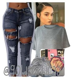 """"" by g0ldenchicaa ❤ liked on Polyvore featuring NIKE"