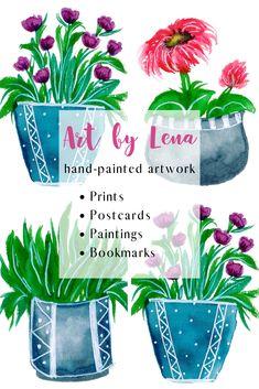 Art by Lena Shop Art, I Shop, Drinking Coffee, Walking In Nature, Hello Everyone, Artwork Prints, Bookmarks, Walks, Postcards