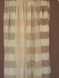 Curtains grey orizonthal