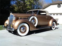 1937 PACKARD 120 CONVERTIBLE - Barrett-Jackson Auction Company - World's Greatest Collector Car Auctions