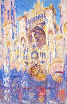 Paintings for sale art online Rouen Cathedral (Effects of Sun End of Day) Claude Monet oil on canvas birthday gift High quality Monet Paintings, Impressionist Paintings, Paintings For Sale, Landscape Paintings, Claude Monet, Renoir, Matisse, Artist Monet, Gauguin