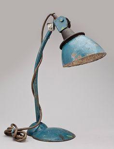 Bordslampa industri