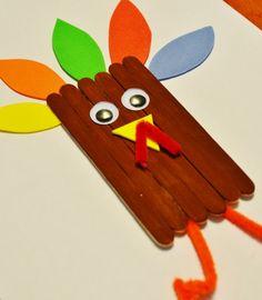 Craft for Kids: Thanksgiving Turkey