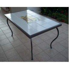 Tavolo Tavolino in FERRO BATTUTO . Realizzazioni Personalizzate . 672