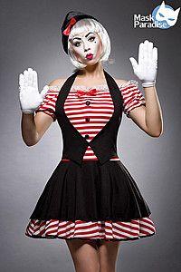 süßer Pantomime Kostüm