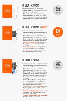 eBook pricing model and pricing page design