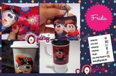 #FridaKahlo diseño piksy