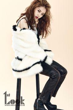 4Minute's Ga Yoon 1st. Look Magazine Vol.51 September 2013