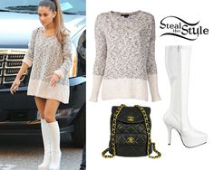 ariana grande steal her style | Ariana Grande outside of the 2014 iHeart Radio Awards, May 1st, 2014 ...